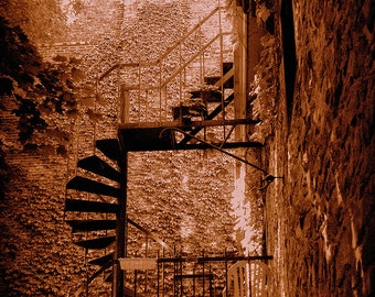 Staircase Old Montreal