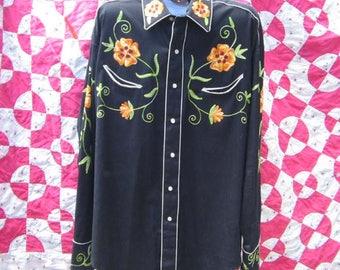 mens vintage XL Rockmount shirt