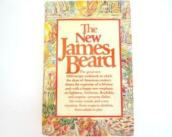 The New James Beard Cookbook - 1981 Cookbook - Good Condition - Torn Jacket - Clean Pages - Hardcover Cookbook - Vintage Cookbook