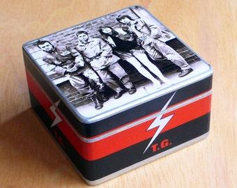 Box Throbbing Gristle. Genesis P-Orridge. Psychic TV