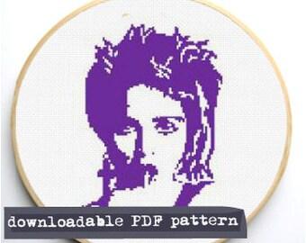 """Counted Cross Stitch Pattern """"Madonna"""""""