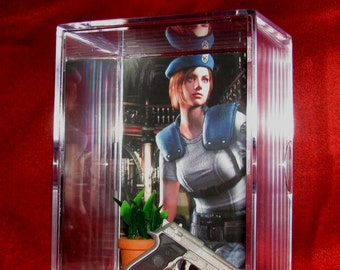 Resident Evil (inspired by) Jill's Valentine's Display ,,Ready To Ship out now.....