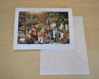 Handmade Photography Card: Generic Example