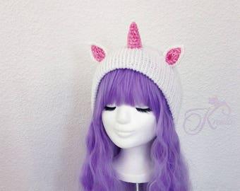Unicorn (pink-glitter)