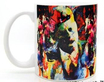 JFK coffee mugs unique 11 oz ceramic cups - Novelty jfk