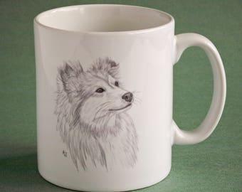 Shetland Sheepdog Ceramic mug