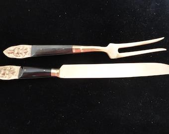 Vintage Thailand Knife & Fork