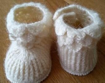 Babyschuhe, Baby Schuhe, Baby Ugg Boots, Gehäkelte Babyschuhe