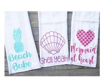 Girls beachy Burpie set