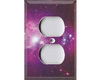 Cosmic Shine - Purple Outlet Cover