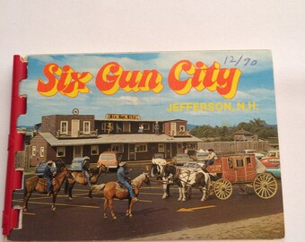 1960s Souvenir Pictures of Six Gun City in New Hampshire