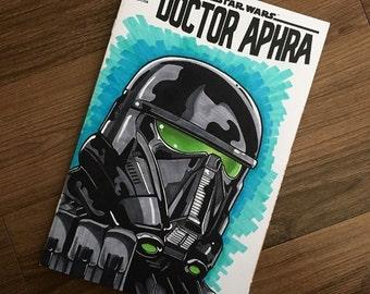 Star Wars Doctor Aphra DEATH TROOPER Sketch cover