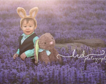 Digital Backdrop/Dreaming in Purple Saliva/Newborn/Fantasy/Fairy/Flowers/Child