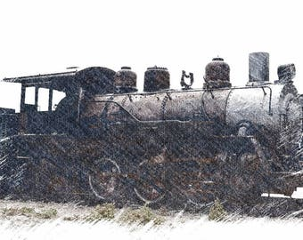 Heber Train Engine