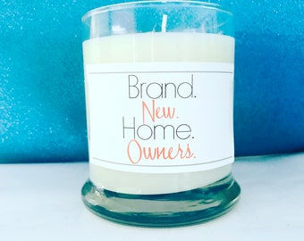 Home owner candle- new homeowner gift- new house- house warming gift- real estate agent- new home- first time homebuyers- brand new home-