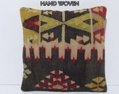 HAND WOVEN needlepoint pillow shabby chic pillow sham retro cushion cover kilim cushion cover coral pattern pillow kilim pillow cover D2882