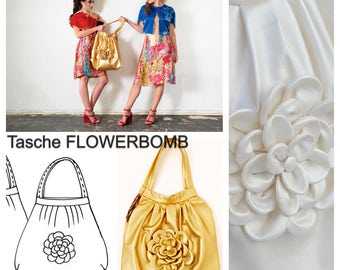 Pattern & sewing instructions : FLOWERBOMB bag