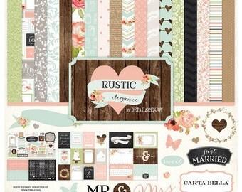 Carta Bella Rustic Elegance Collection Kit