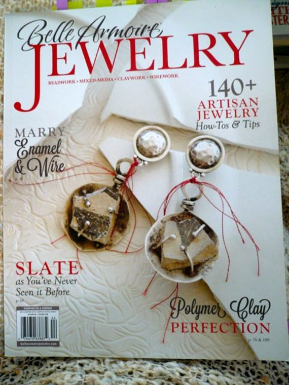 Belle armoire jewelry books craft books project books do for Belle armoire jewelry magazine subscription