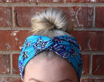 Headband, hair wrap, turban headband, adult, one size fits all, knit