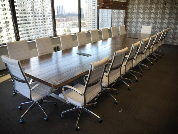 10ft turkish steel conference table rustic boardroom table for 10 ft conference room table