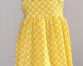Ready to Ship Yellow Daisy Tank Dress