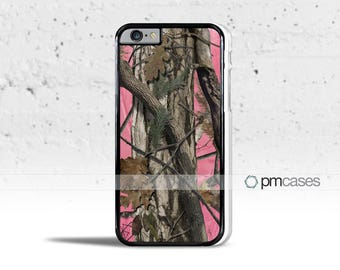 Pink Tree Camouflage Camo Case Cover for Apple iPod Touch & iPhone 4/4s/5/5s/5c/6/6s/7/Plus/SE