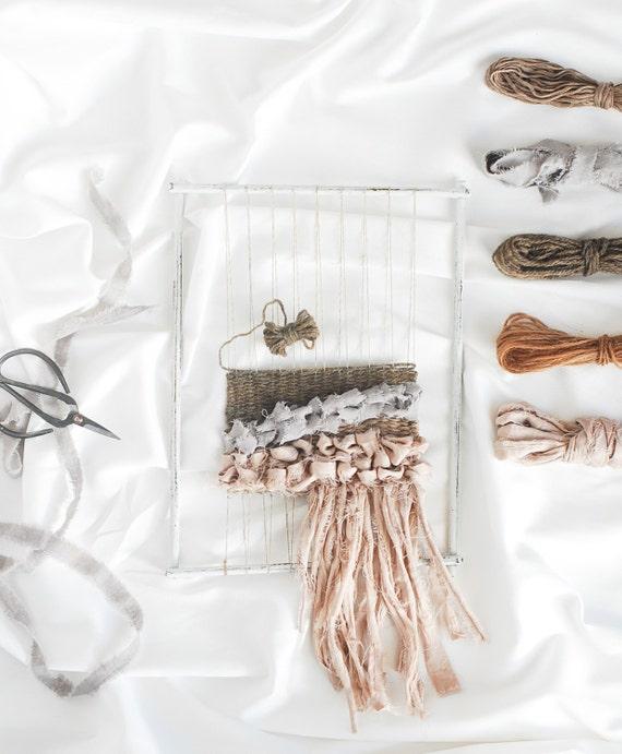 Basket Weaving Supplies Coupon : Weaving kit fiber bundle natural dye supplies