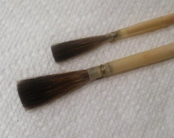 Vintage Artist Quill Brushes/Sign Painting Brushes Made in France New Old Stock Sizes #8