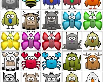 Amusement avec les Animaux est un jeu éducatif. Faites des connections! Disponible en formats imprimable et téléchargement digital.