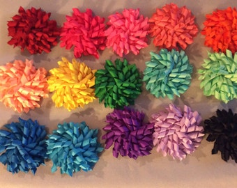 Solid Korker Hair Bow