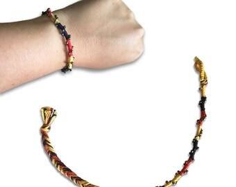 Spiral Beads Bracelet