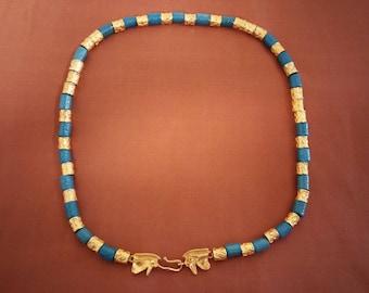 1976 Egyptian Faience necklace - Metropolitan Museum of Art Replica