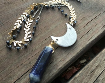 Sodalite Moon Goddess