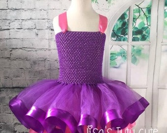 Pink and purple tutu, Pink and purple dress, pink tutu dress, purple tutu dress, pink dress, purple dress, purple pageant dress,