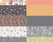 Fat Quarter Bundle(10) MUMSEED MEADOW by Rae Ritchie for Dear Stella