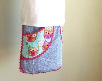 Owl Pocket Skirt, Size 6