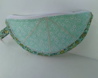 Make up bag  zipper pouch. Coin purse. Fully lined