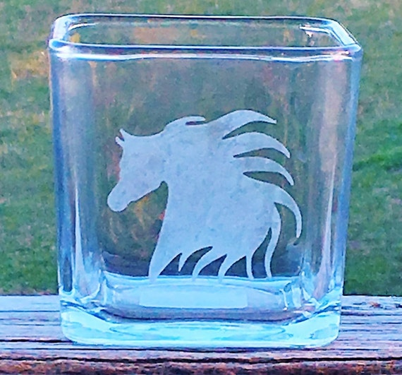 Arabian Horse Head, Candle Holder, Birthday Gift, Western Decor, Wedding Gift, Horse Lovers Gift, Horse Gift