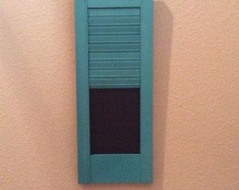 Shutter Letter Holder and Chalkboard