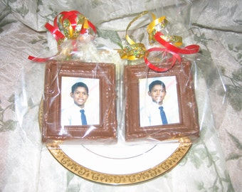 Chocolate Picture Frame Party Favors Birthday