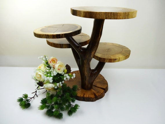 tree branch wedding cake stand tiered wooden stand oak tree stand wood stand tier cupcake 21252