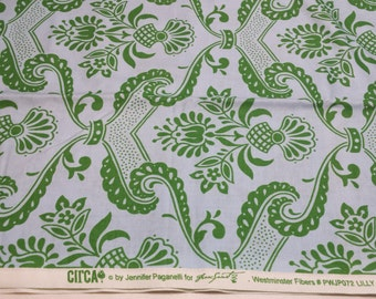 CIRCA Jennifer Paganelli 'Lilly' in green 2 yards