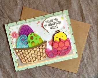 Egg-ceptional Easter card