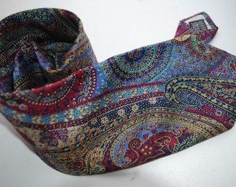 Vintage Vestbury abstract print paisley silk tie