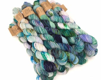 Pretty Toes mini skein: Space Suit