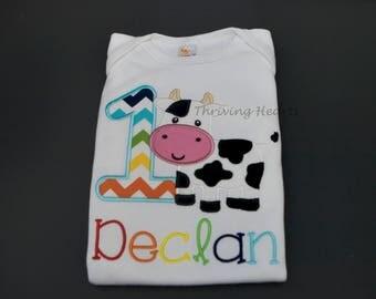 Farm themed birthday Shirt - Birthday shirt!