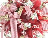 Christmas Mesh wreaths, D...