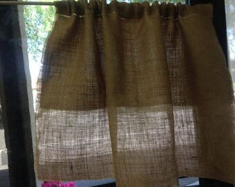 Lining Upgrade To Burlap Curtains, Burlap Panels