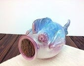 fish art fish piggy bank,...